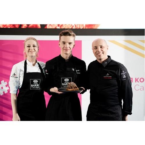 Три звезды Cacao Barry провели мастер-класс на Pir Expo - 2021