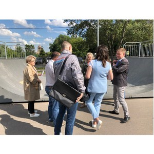 Московские активисты ОНФ добились приведения в порядок стадиона на Коптевском бульваре