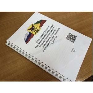 Бизнес-защитника Забайкалья завершила работу над докладом за 2019 год