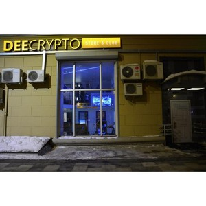 Первый магазин легального оборудования для майнинга DeeCrypto