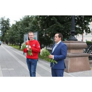 Всероссийская акция «Привет, ромашки!» прошла в Екатеринбурге