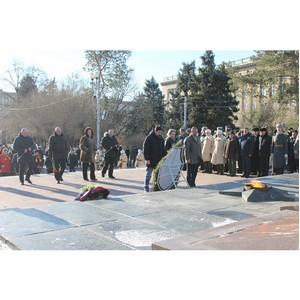 Волгоградские активисты ОНФ провели патриотические мероприятия ко Дню защитника Отечества