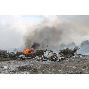 Активисты Народного фронта в Оренбургской области выявили горящую свалку в поселке 9 Января