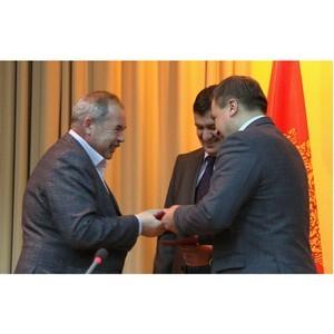 Работники «Липецкцемента» награждены медалями в честь 65-летия Липецкой области
