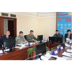 Росгвардия Тувы приняла участие в тренировке по гражданской обороне