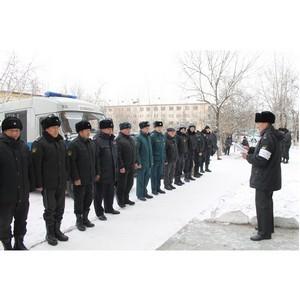 Росгвардия Тувы: совместные тренировки с УФССП