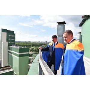 Мэр Ярославля провел встречу с руководителями промышленных предприятий на заводе «Балтика-Ярославль»