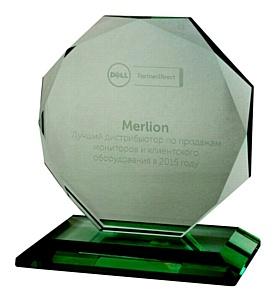 Merlion вновь стал лучшим по продажам клиентского оборудования Dell
