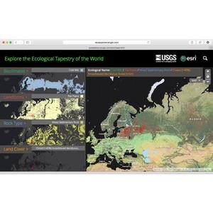 Esri CIS: компания Esri опубликовала самую подробную экоклиматическую карту мира