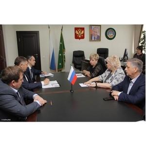 Состоялась встреча представителей «ТНС энерго Кубань» и ХАСЭ РА