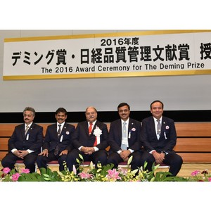 Премия Деминга 2016 вручена предприятию Ashok Leyland в Пантнагаре