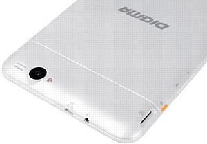 Интернет-планшет Digma Plane 7.2 3G с яркой оранжевой кнопкой
