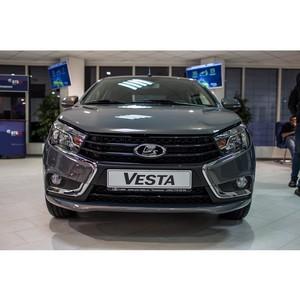 В ДЦ «Техинком» стартовали продажи нового флагмана «Автоваза» - Lada Vesta!