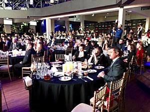 Церемония награждения победителей телевизионного конкурса «Федерация»