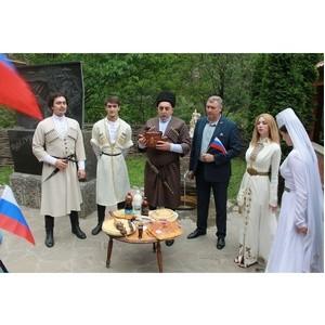 В День России активисты ОНФ из КБР и Осетии обменялись пирогами