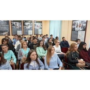 В НИЕВ прошла встреча с первокурсниками