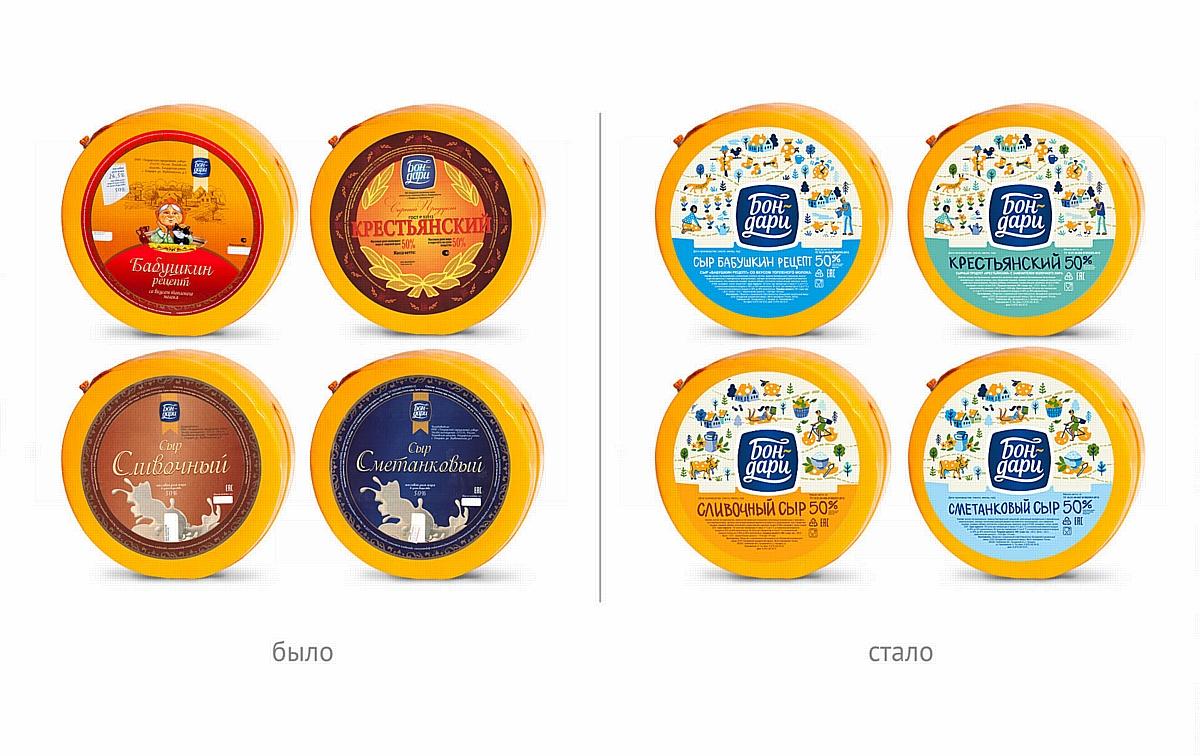 Variobrands представили новый бренд полутвердых сыров «Бон-дари»