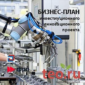 Бизнес-план организации для развития производства