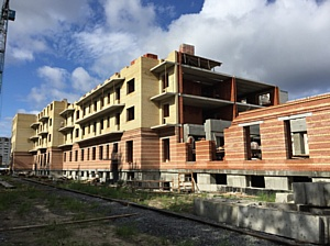 ЖК «Парус» - самый большой объект жилищного строительства в Северодвинске