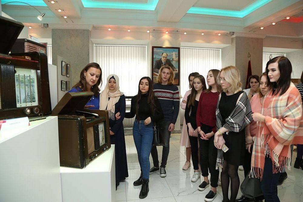 Студенты УрГЭУ посетили музей НПО Автоматики