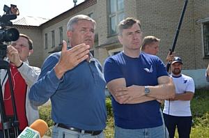 Активисты ОНФ провели инспекцию инфекционного отделения больницы города Сим Челябинской области