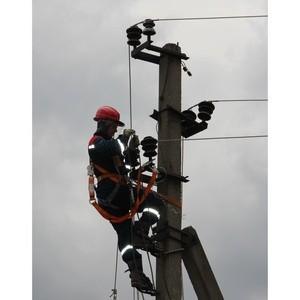 Энергетики Рязаньэнерго ликвидируют нарушения электроснабжения