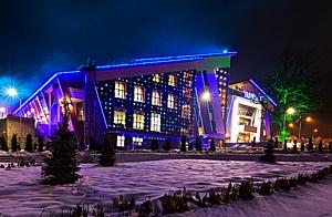 """Освещение IntiLED в горно-туристическом центре """"Газпром"""""""