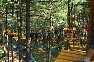 Первомайский праздник и открытие сезона в веревочных парках развлечений Гамми. Позитива всем!