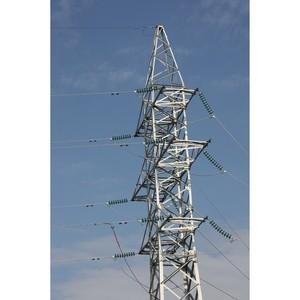 Липецкэнерго проводит модернизацию воздушной линии электропередачи