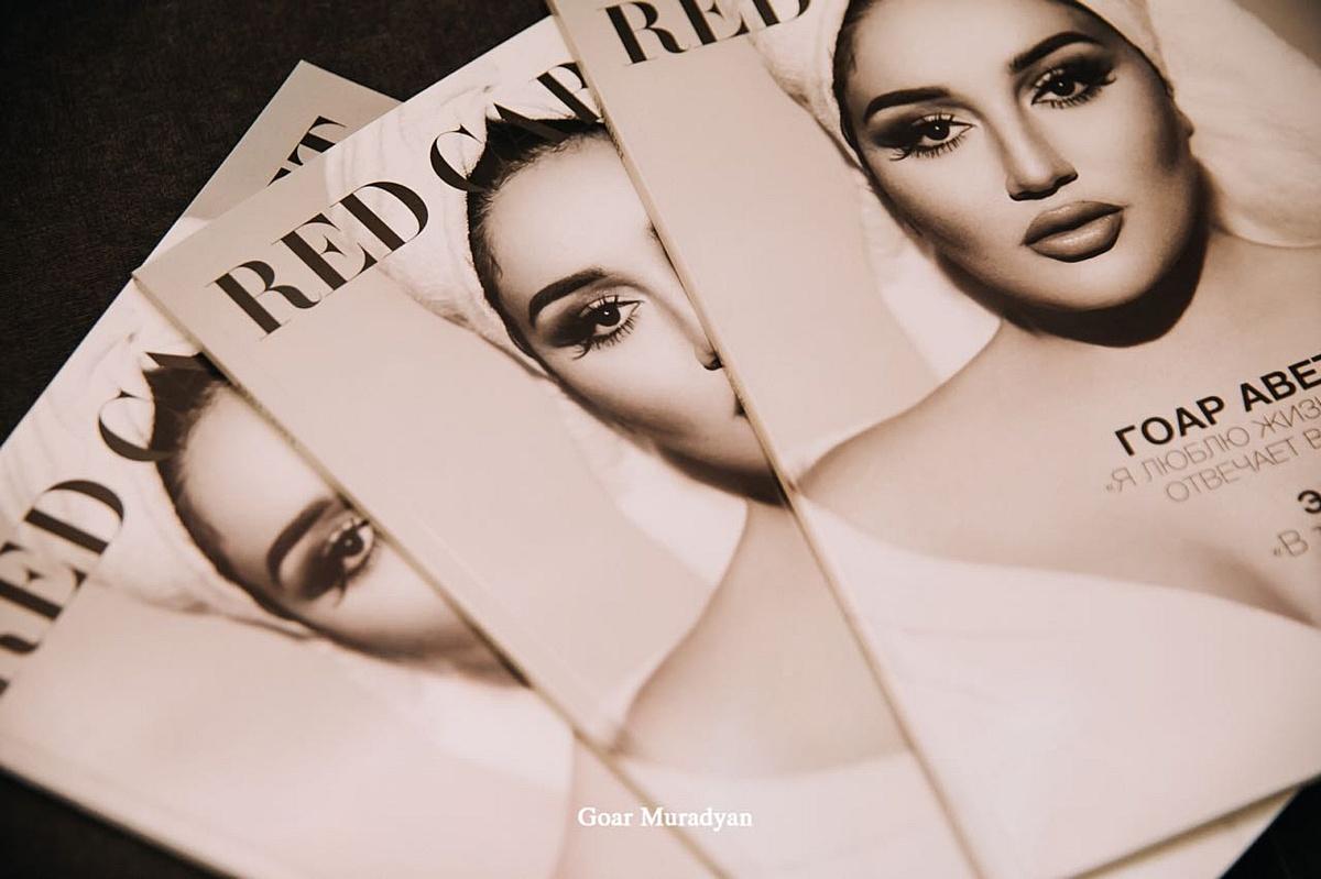 Состоялась презентация нового номера армяно-российского глянцевого журнала «Red Carpet»