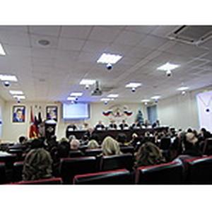 Заседание Общественно-консультативного совета при УФМС России