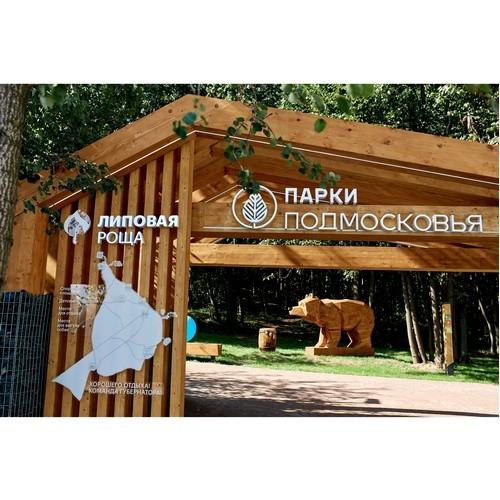 Группа «Самолет» обустроила территорию парка «Липовая роща»