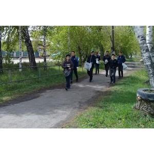 Активисты ОНФ провели в Курганской области экологическую акцию в формате плоггинга