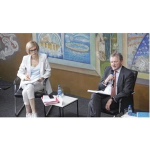 Федеральный бизнес-защитник Борис Титов встретился с предпринимателями Забайкалья