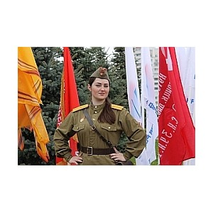 Активисты ОНФ организовали в Белгороде ко Дню Победы фото-акцию «Я помню! Я горжусь!»