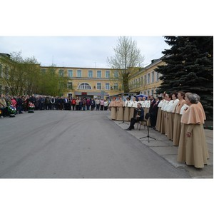 Работники Серовского механического завода приняли участие в мероприятиях, посвященных дню Победы