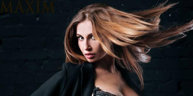 Россиянка Натали Соболева стала звездой Maxim South Africa