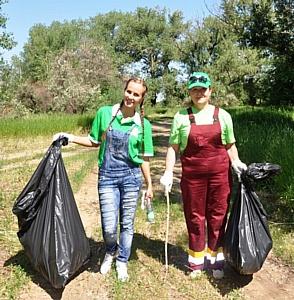 Сотрудники Волжского филиала ОАО «САН ИнБев» оберегают природу