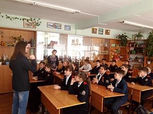 Активисты ОНФ Мордовии провели для школьников уроки патриотического воспитания