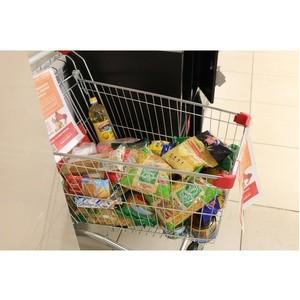 В Мордовии продукты с «тележек добра» получили более 30 семей