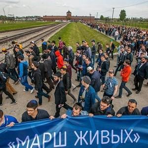 При поддержке БФ «Сафмар» М.С. Гуцериева делегация еврейской молодежи посетила концлагерь Освенцим