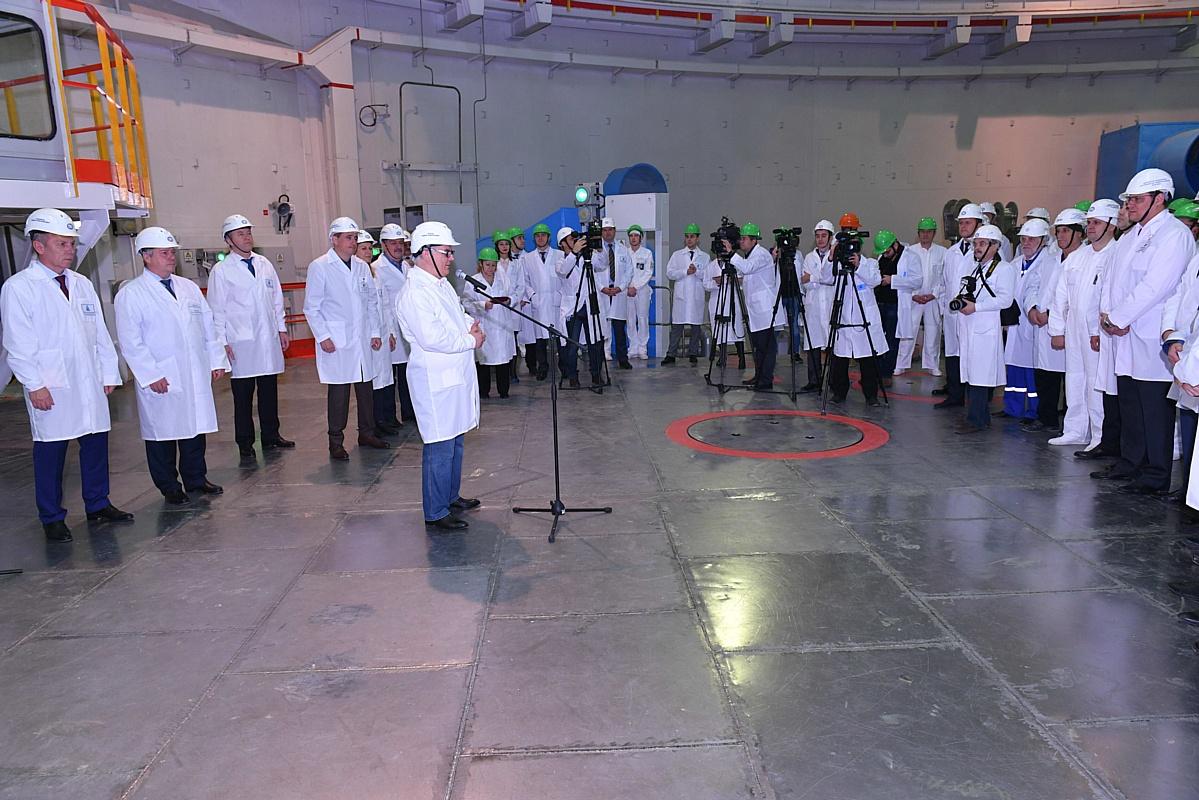 На Ростовской АЭС начался физический пуск новейшего энергоблока №4