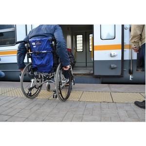 Эксперты ОНФ обнаружили, что пригородные московские платформы остались недоступными для инвалидов