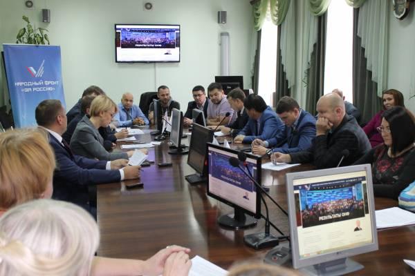 Круглый стол в региональном отделении ОНФ