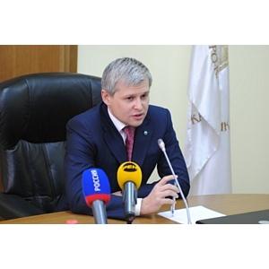 Председатель Северо-Кавказского банка встретился с Кадыровым