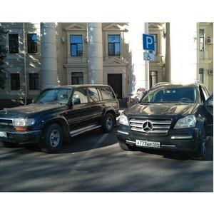 Волгоградские активисты ОНФ проверили доступность парковочных мест для инвалидов в областном центре