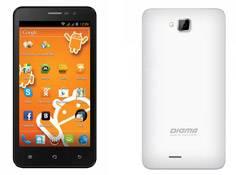 Четырехъядерный смартфон Digma iDxQ5 3G