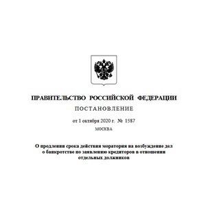 Михаил Мишустин продлил мораторий на возбуждение дел о банкротстве