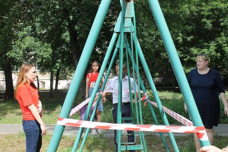 Челябинская команда «Молодежки ОНФ» проверила безопасность мест отдыха