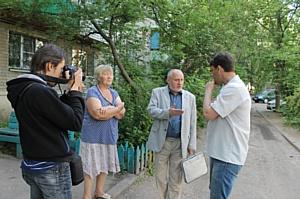 Активисты ОНФ провели рейд по дворам Воронежа, включенным в проект благоустройства